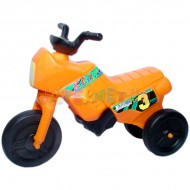 Motocicleta fara pedale Mica - portocaliu