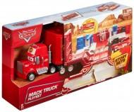 Pachet Promotional Tiruri Disney Cars 3 : Camionul Mack si Cruz Ramirez Hauler