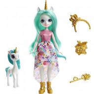 Papusa Queen Unity si figurina Stepper EnchanTimals Royal