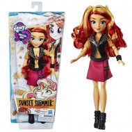 Papusa Sunset Shimmer My Little Pony Equestria Girls 28 cm