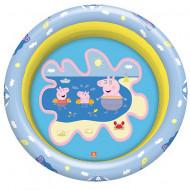 Piscina gonflabila cu 3 inele Peppa Pig