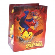 Punga pentru cadou mijlocie Spiderman