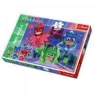Puzzle Eroi in Pijama 24 piese