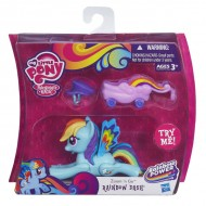 Rainbow Dash Zoom and go Party My little pony