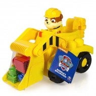 Rubble Set Cuburi si Buldozer Patrula Catelusilor Junior