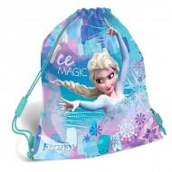 Sac de umar cu snur Frozen Elsa