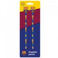 Set 2 creioane grafit cu radiera F.C Barcelona