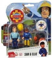 Set 2 Figurine Sam Pompierul - Sam&Ellie