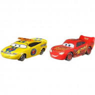 Set 2 masinute metalice  Charlie Checker si Fulger McQueen Disney Cars