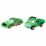 Set 2 masinute metalice Chick Hicks si Chief Chick Disney Cars