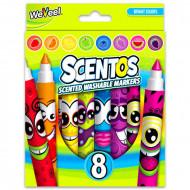 Set 8 markere parfumate Scentos
