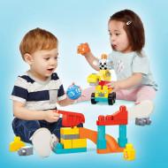 Set constructie Mega Bloks Fisher Price - Santierul