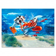 Set de joaca Aripa submarina Top Agents Playmobil