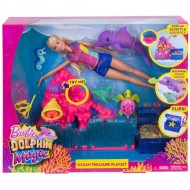 Set de joaca Comoara din Ocean Barbie Dolphin Magic