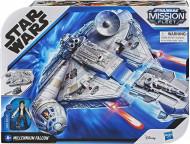 Set de joacă Star Wars Millennium Falcon Deluxe, cu figurină și accesorii!