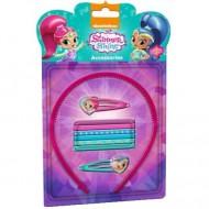 Set decorativ pentru par cu 9 accesorii Shimmer&Shine
