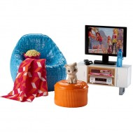 Set mobila de joaca Movie Night Barbie