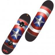 Skateboard Capitanul America 80 cm