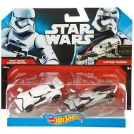 Set Masinute Stormtrooper si Captain Phasma 1/64 Hot Wheels Star Wars Carships