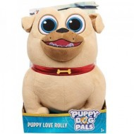 Figurina de plus Rolly 25 cm Puppy Dog Pals - Prietenii Catelusilor Disney Jr.