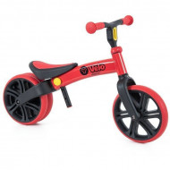 Bicicleta fara pedale rosie Junior Balance Yvelo