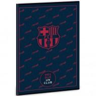 Caiet Matematica FC Barcelona Negru A4
