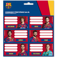 Etichete Caiet FC Barcelona