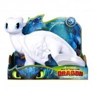 Figurina de plus Light Fury - Cum sa-ti dresezi dragonul