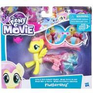 Figurina Fluttershy sirena si ponei My Little Pony:Filmul