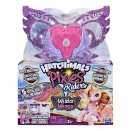 Figurina Hatchimals Pixies Riders Wilder Wings - Chic Claire Pixie si Zebrush Glider