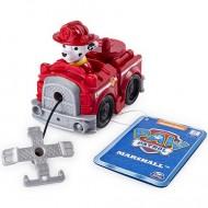 Marshall in masinuta de pompieri cu ancora Patrula Catelusilor