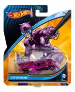 Masinuta Catwoman 1/64 Hot Wheels DC Universe