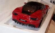 Masinuta Ferrari 488 GTB Rosu 1/18 Bburago Signature Series