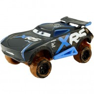 Masinuta metalica Jackson Storm Mud Racing XRS Disney Cars 3