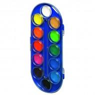 Paleta acuarele 12 culori