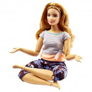 Papusa Barbie Made To Move flexibila Yoga
