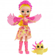 Papusa Falon Phoenix si figurina Sunrise EnchanTimals Royal