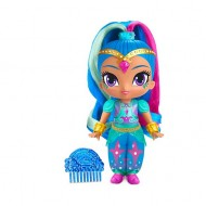 Papusa Shine cu parul colorat: Shimmer and Shine