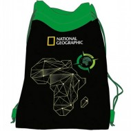 Sac de umar cu snur National Geographic Verde