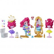 Salonul de coafura al lui Pinkie Pie My Little Pony Minis Equestria Girls