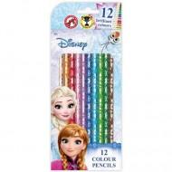 Set 12 Creioane Colorate Frozen