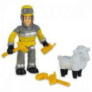 Set 2 Figurine Sam Pompierul - Elvis si Wolly