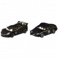Set 2 masinute metalice Cars Lewis Hamilton si Bruce Boxmann Disney Cars
