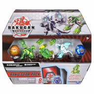 Set 4 Bakugan Armored Alliance Baku-Gear figurine Howlkor Ultra si Eenoch Ultra