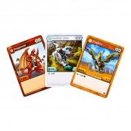 Set Bakugan Start cu 3 figurine Haos Howlkor, Dragonoid, Aurelus Pegatrix