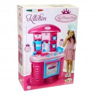 Set bucatarie roz My Princess Sara cu accesorii 75 cm