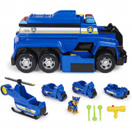 Set Chase si Ultimate Police Cruiser 5 in 1 cu sunete si lumini Patrula Catelusilor