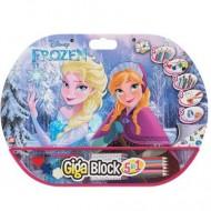 Set creativ Giga Block 5 in 1 Frozen