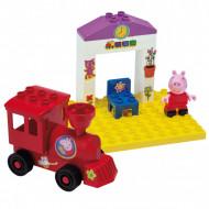 Set de constructie Big Bloxx Gara lui Peppa Pig