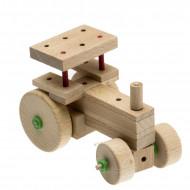 Set de constructie din lemn Matador Explorer - Utilaje agricole